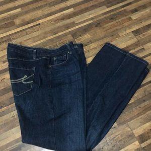 Women's Nine West denim jeans size 12 EUC